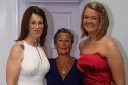 3 generations at wedding