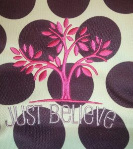 just believe logo