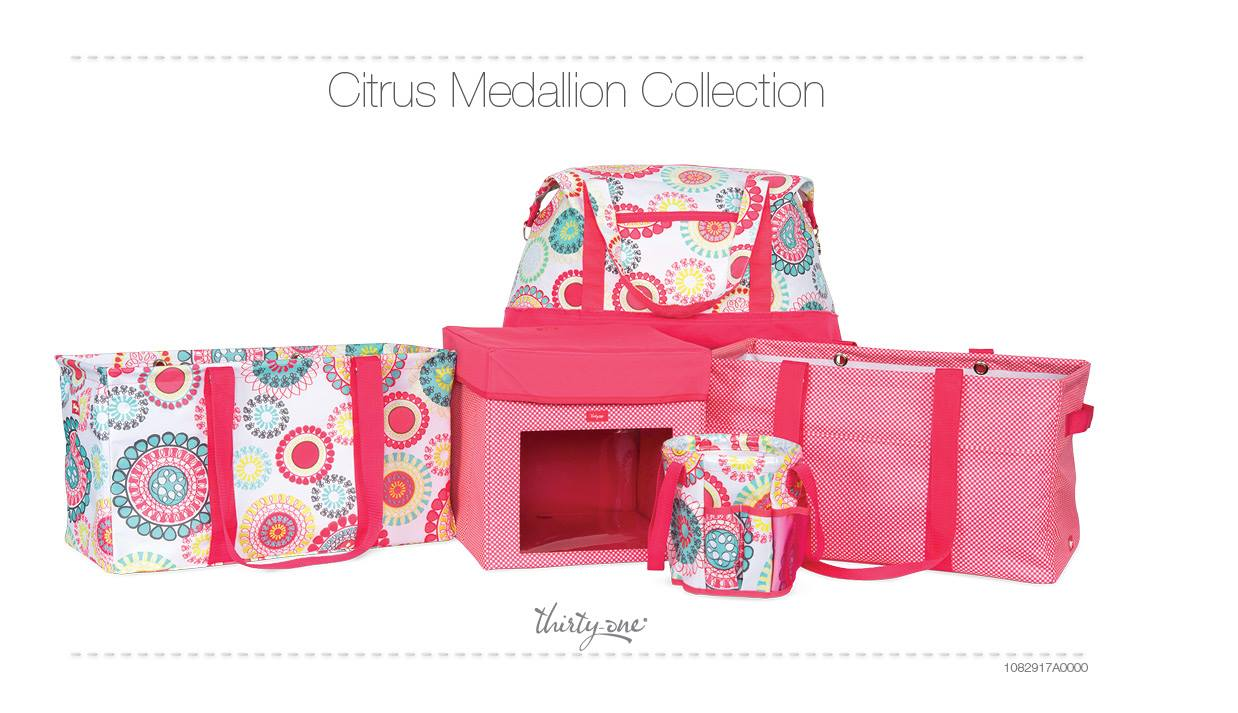 Citrus medallion collection
