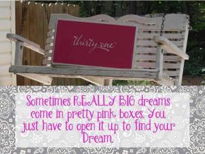 pink box big dreams