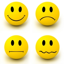 emotions - smiley faces
