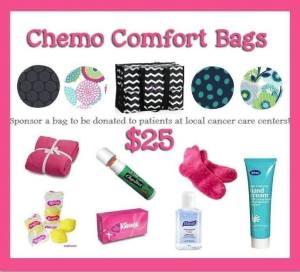 chemo comfort bags