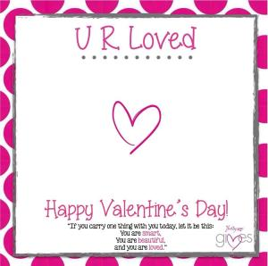 UR Loved card