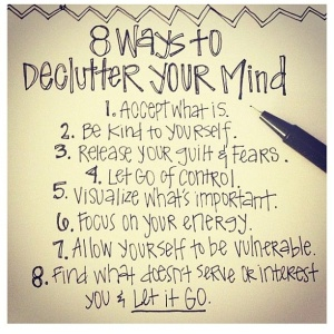 declutter the mind