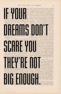 dreams scary