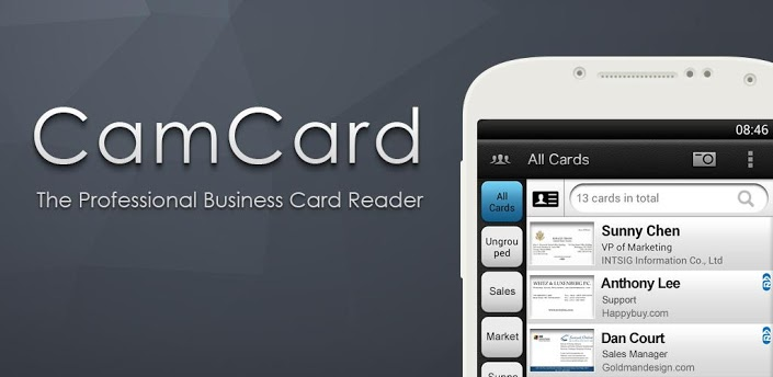Organize your business cards hope wissel camcardg reheart Gallery