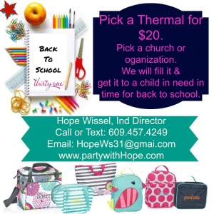 back to school thermal no date