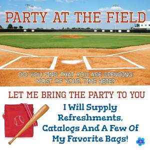 party at the field