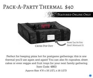 pack a party thermal