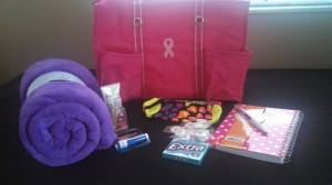 chemo comfort bag sample