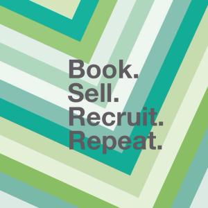 book sell recruit repeat