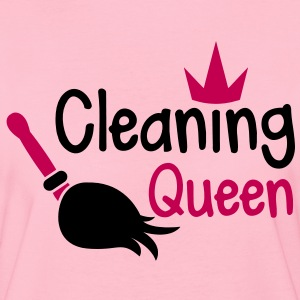 cleaning-queen-with-a-crown-and-sweeping-broom-women-s-t-shirts-women-s-t-shirt-by-american-apparel